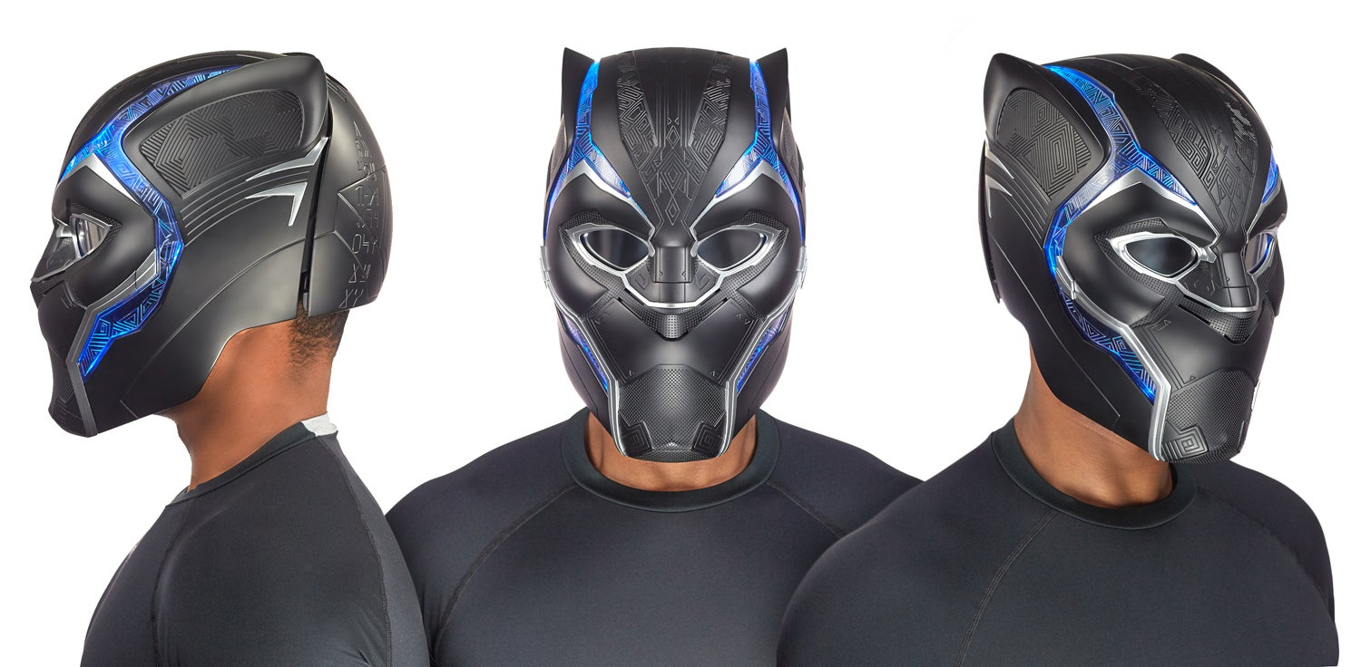 Hasbro's Fancy New Black PantherMask Is Fit For A King