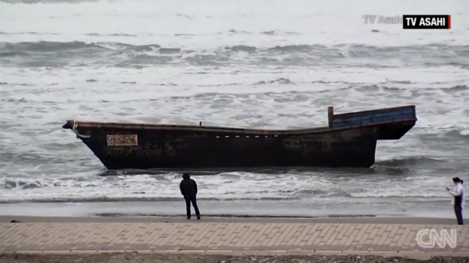 A Ghost Ship Carrying 8 'Skeletonised' Bodies Washed Up In Japan, And It's Not The First Time