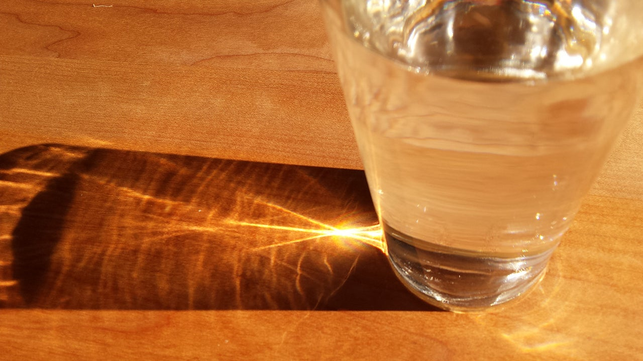 Drink a Glass of Water Shortly Before Each Meal to Eat Less