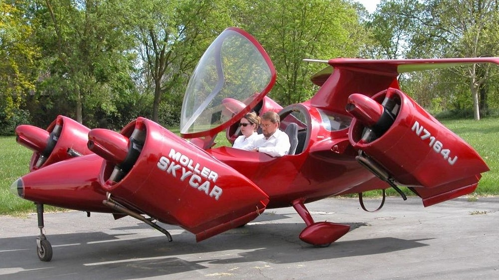 You Can Own The Original 'Just Two Years Away' Flying Car For 6.5 Million Bucks