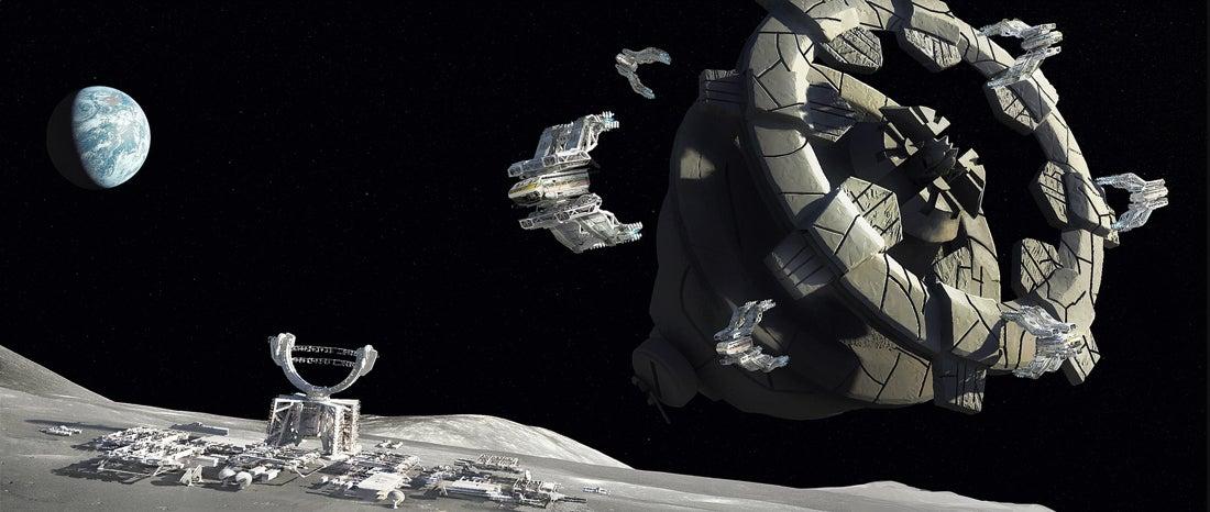 moon base concept art - photo #31
