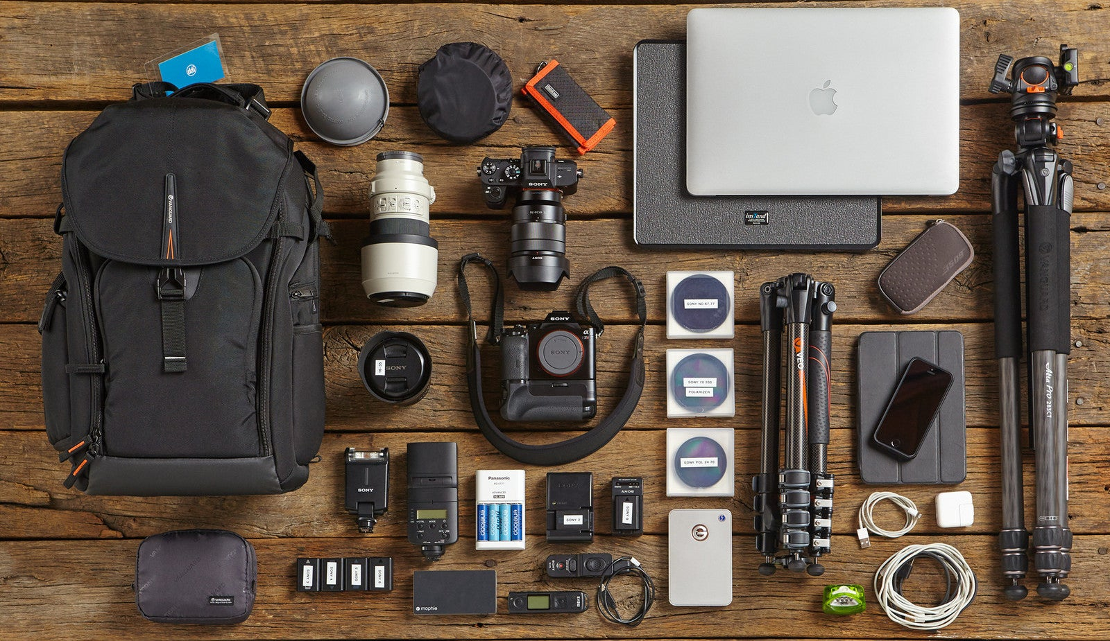 Here's What A Photo Pro Brings In His Backpack