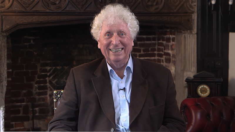 Doctor Who: Tom Baker is back as the Time Lord