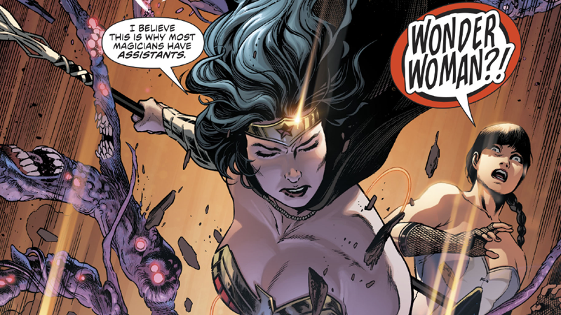 DC's Magical Underworld Is Broken, And Wonder Woman Is Trying To Fix It