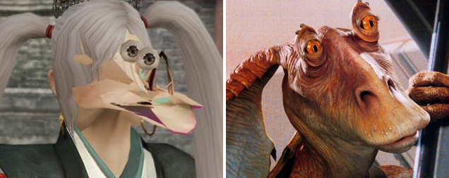 Behold, Video Gaming's Jar-Jar Glitch