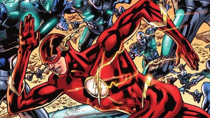 Report: The Flash Movie Might Be More Like Back To The FutureThanFlashpoint