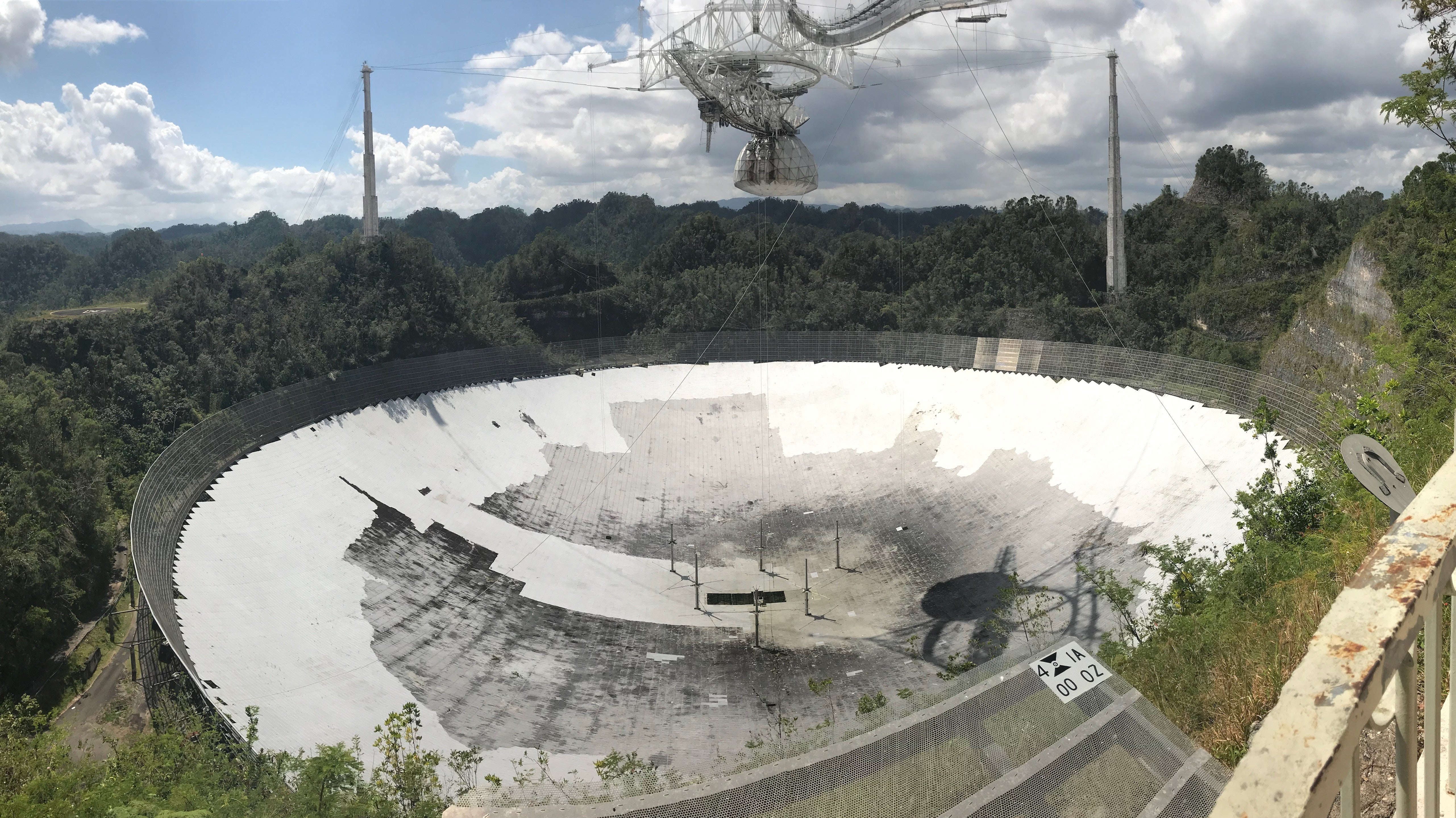 Six Months After Hurricane Maria, Puerto Rico's Famous Telescope Is Still Under Threat