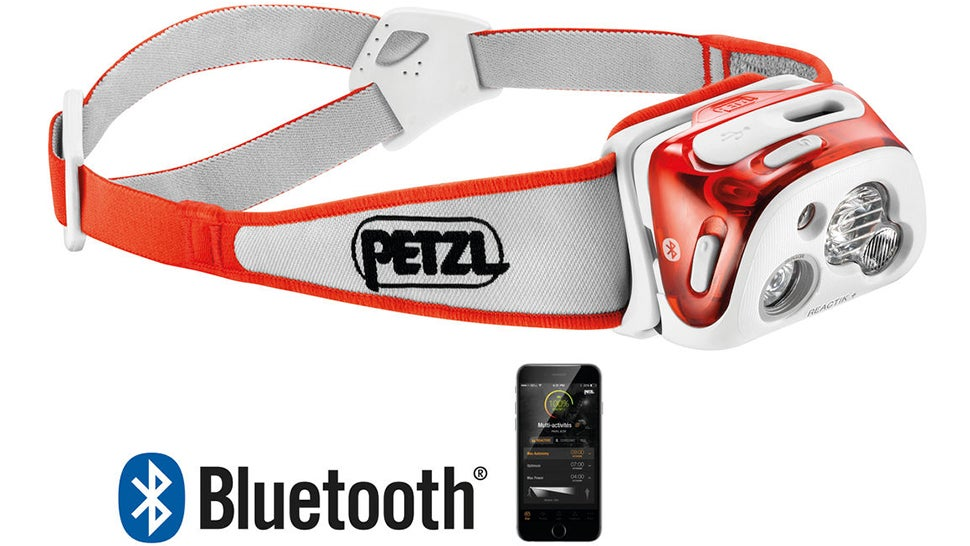 An App Manages the Brightness of Petzl's New Headlamps to Maximise Battery Life