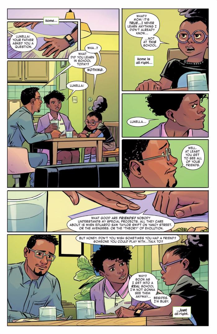 Marvel's Cute New Superhero Comic Has An Awful Tension Lurking Inside