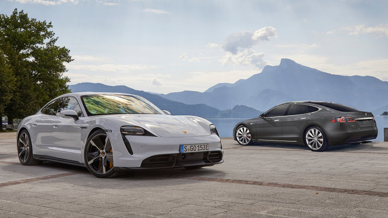 Car And Driver's Test Between The Porsche Taycan And Tesla Model S Proves Porsche Was Right