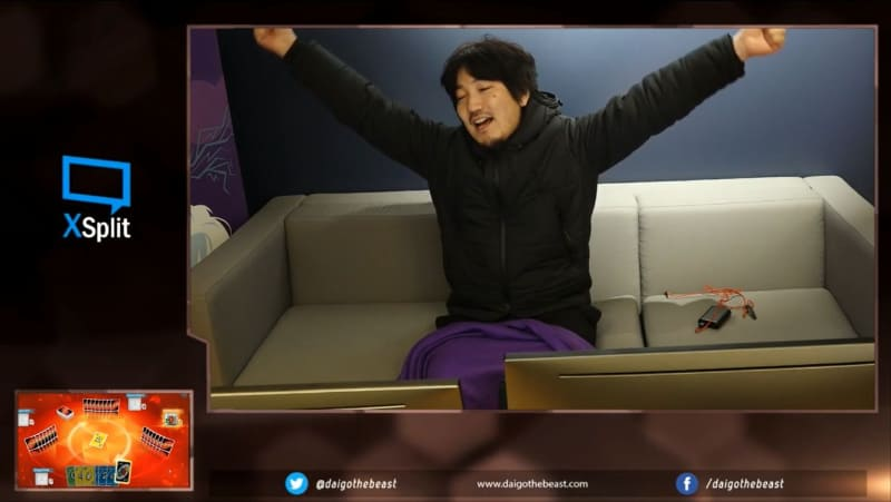 Legendary Street Fighter Player Daigo Umehara Wins Uno Tournament