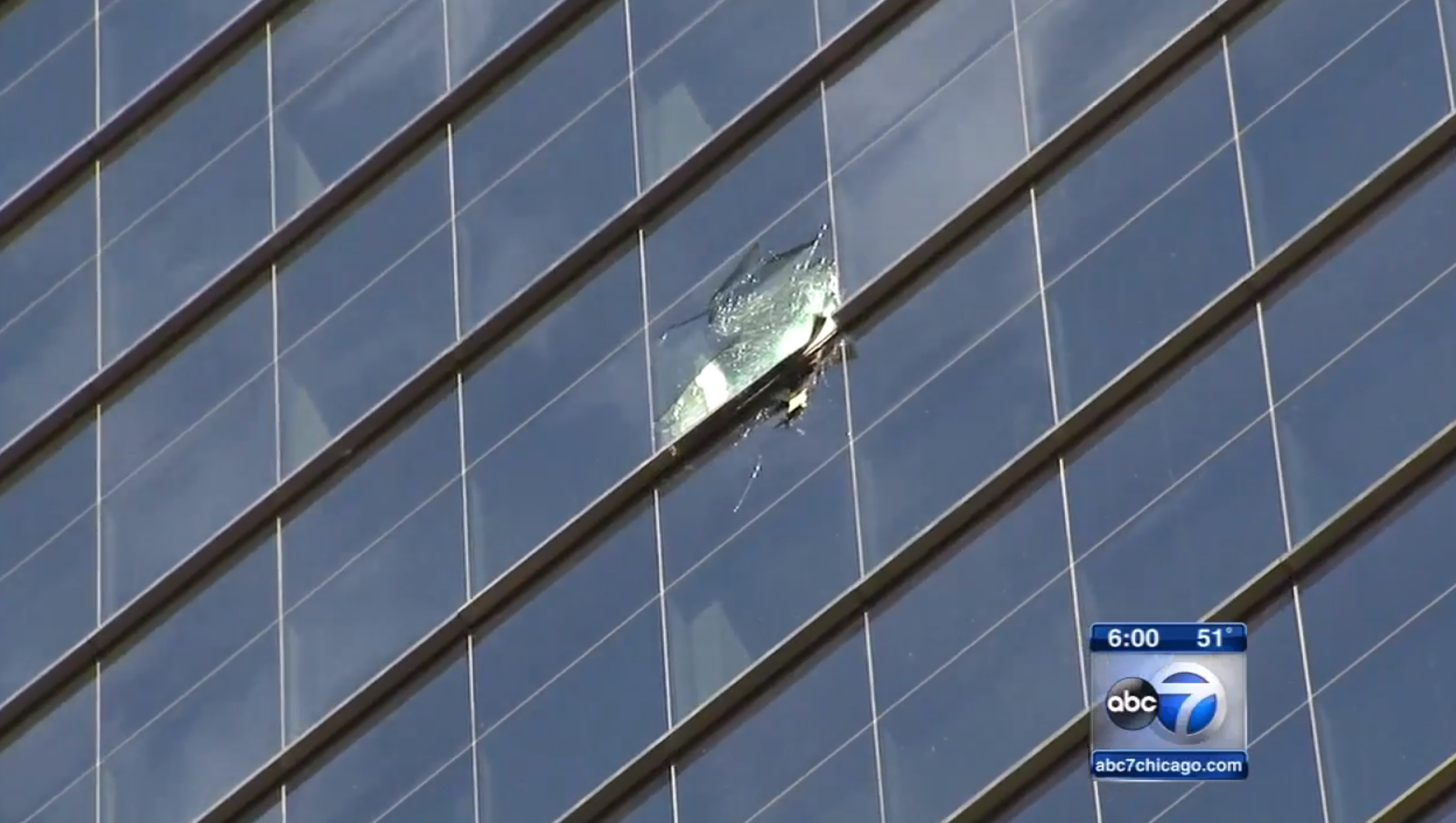 Chicago Skyscrapers 'Raining Glass' After Scary High Winds