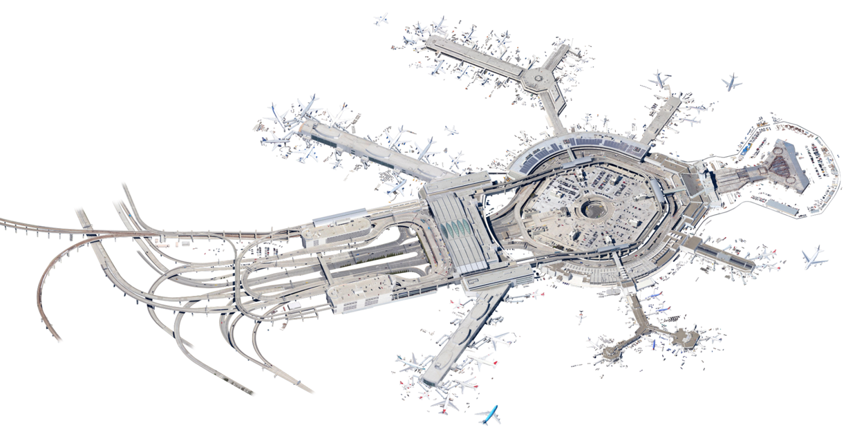 Amazing Satellite Image Cutouts Turn Infrastructure Into Intricate Art