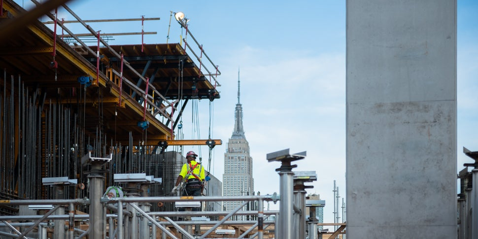 Inside the Futuristic Neighbourhood Being Built Over a Busy NYC Rail Yard