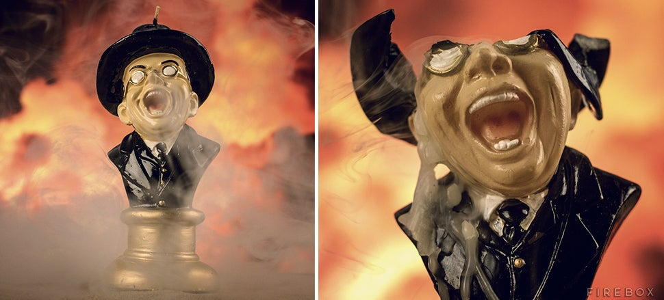 Recreate Raiders' Goriest Scene With a Melting Nazi Candle