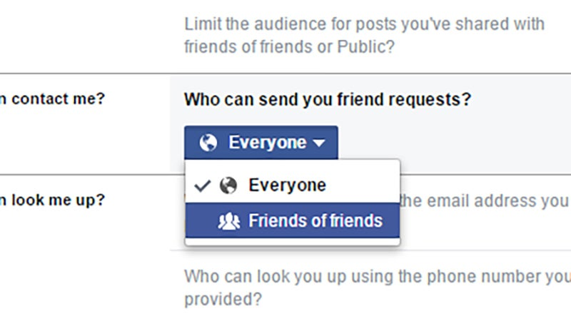 Make It Harder for People to Find You on Facebook
