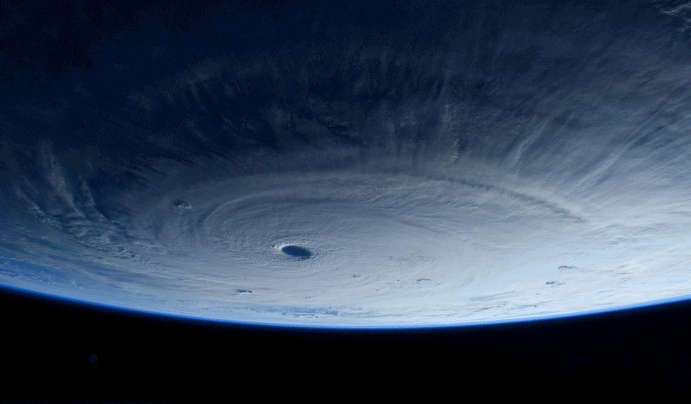 Super Typhoon Maysak Looks Terrifying From Space