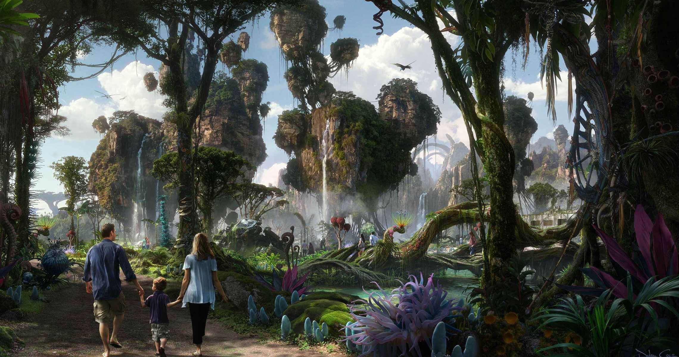 James Cameron Will Unveil New Details On The Avatar Theme Park In November