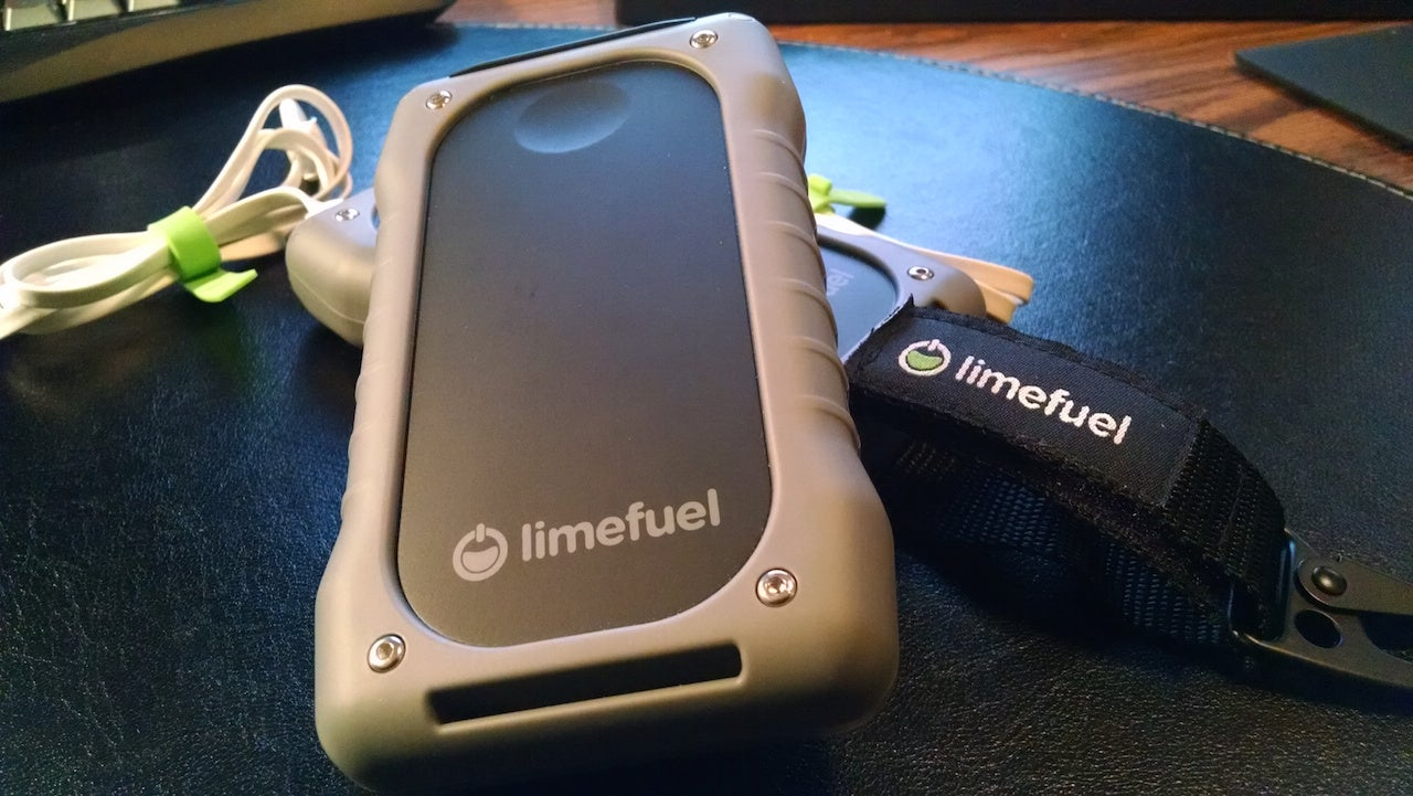 The Limefuel Rugged Keeps Your Gear Charged, Can Take a Beating