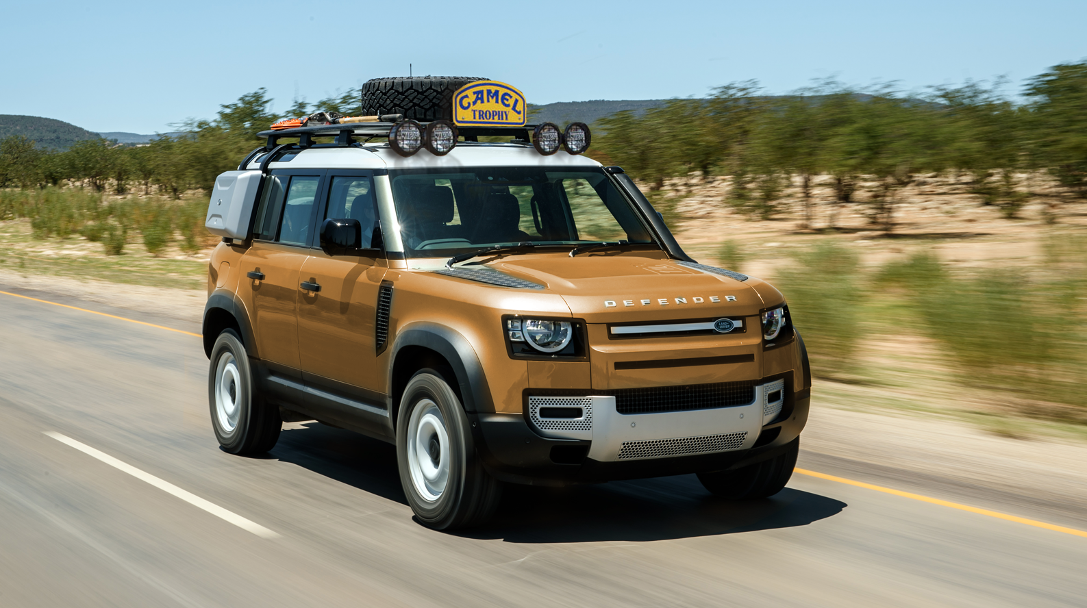 Here's What The 2020 Land Rover Defender Camel Trophy Could Look Like