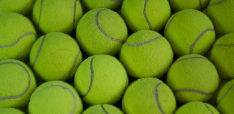 Now We Know How Many Ways We Can Arrange 128 Tennis Balls