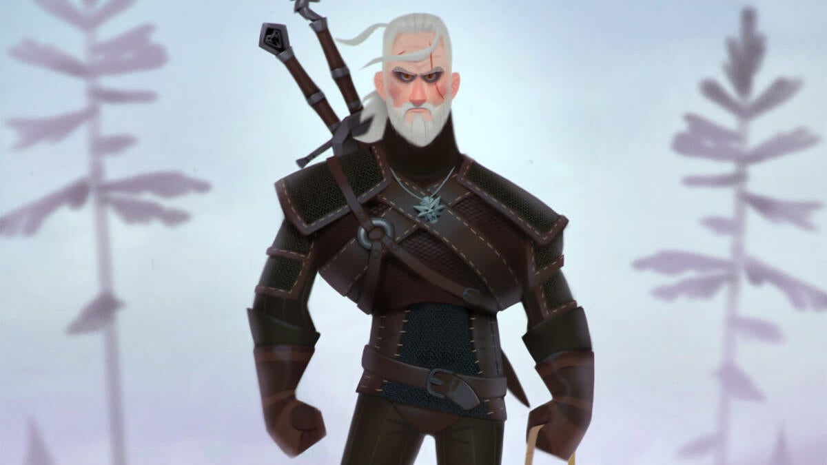 Chin Up, Geralt