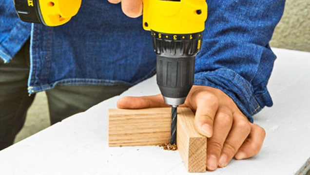 Drill a Straighter Hole with Some Scrap Wood