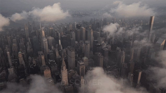 Being Above the Clouds in New York City Is a Magical Place