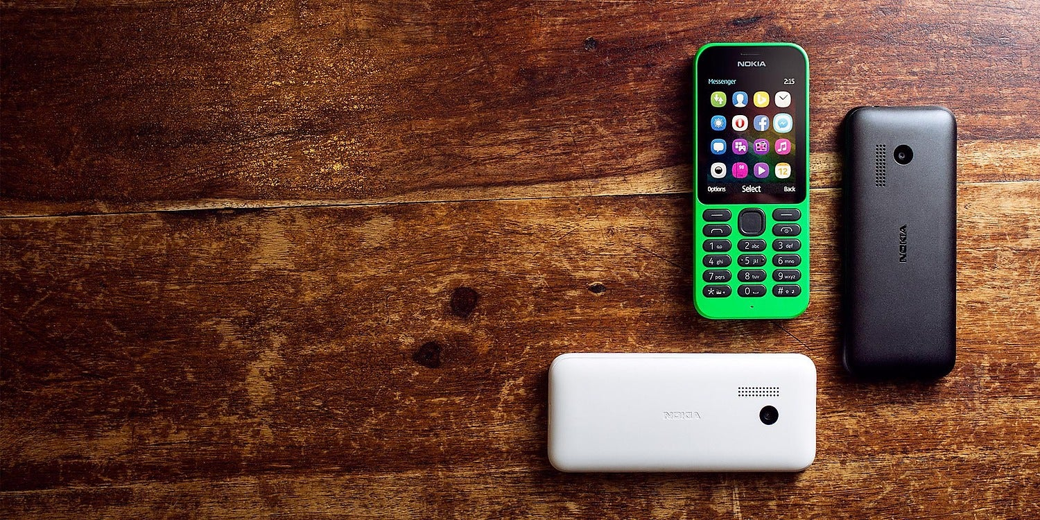 Nokia 215: Internet in Your Pocket For $US30