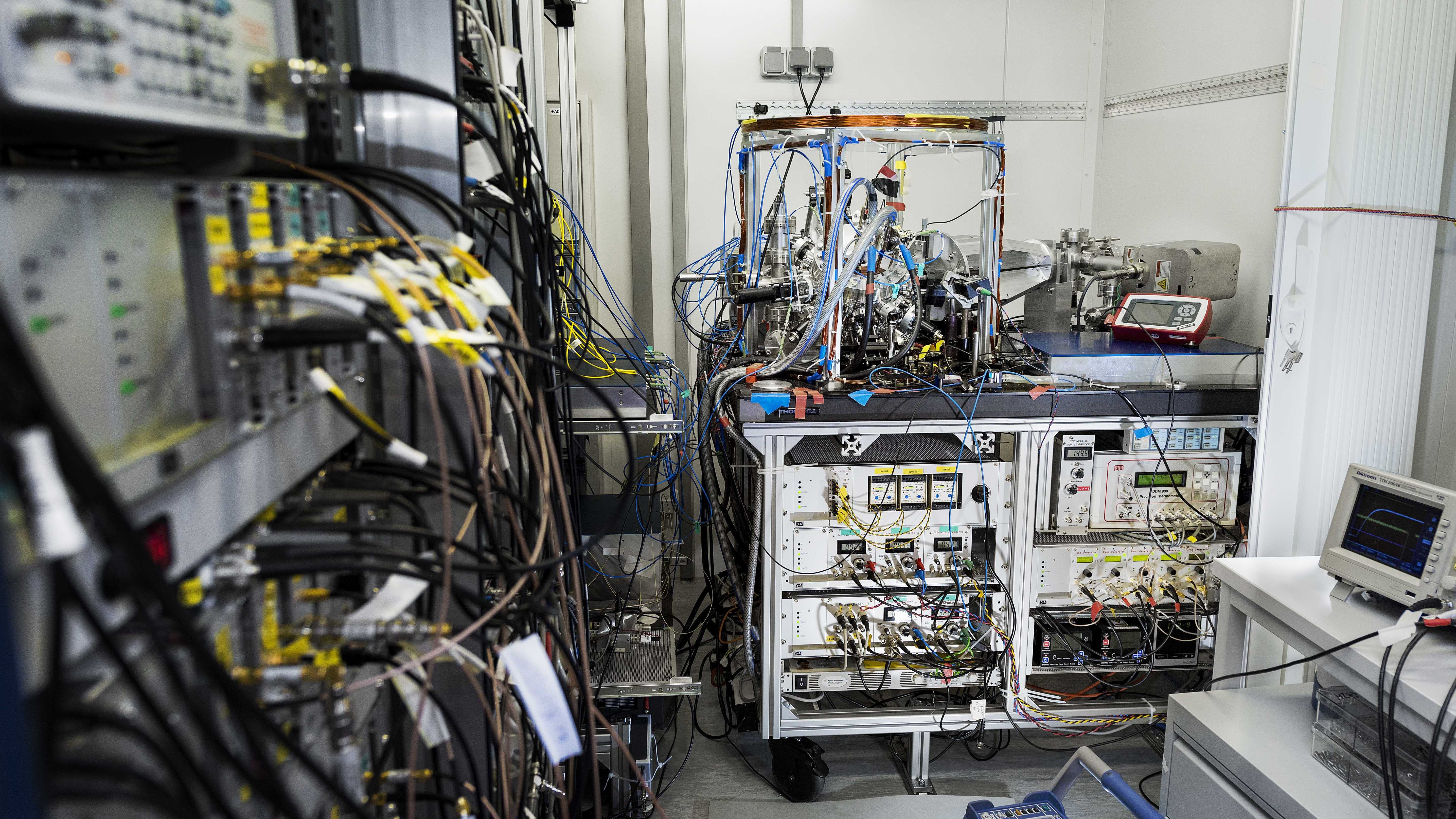 Portable Atomic Clock Makes First Measurement