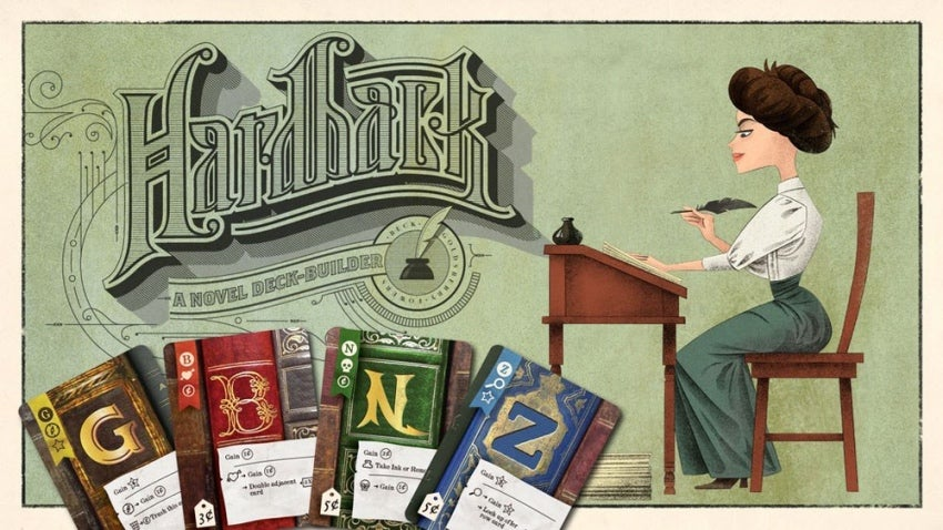 Indie Game Designer Tim Fowers DebutsHardback, A 'Pre-Quill' ToPaperback Card Game