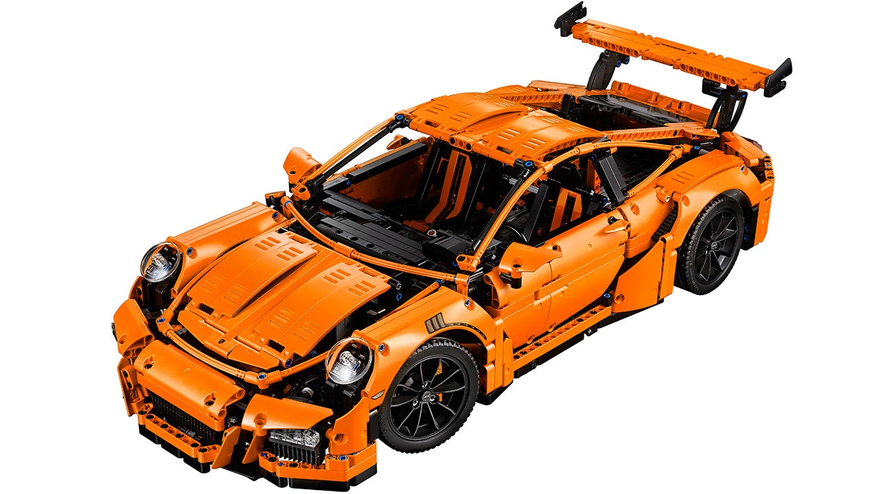 Lego's New 2,700-Piece Porsche 911 Is a Work of Art