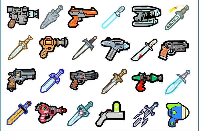 You've Never Seen Your Favourite Pop Culture Weapons Quite Like This
