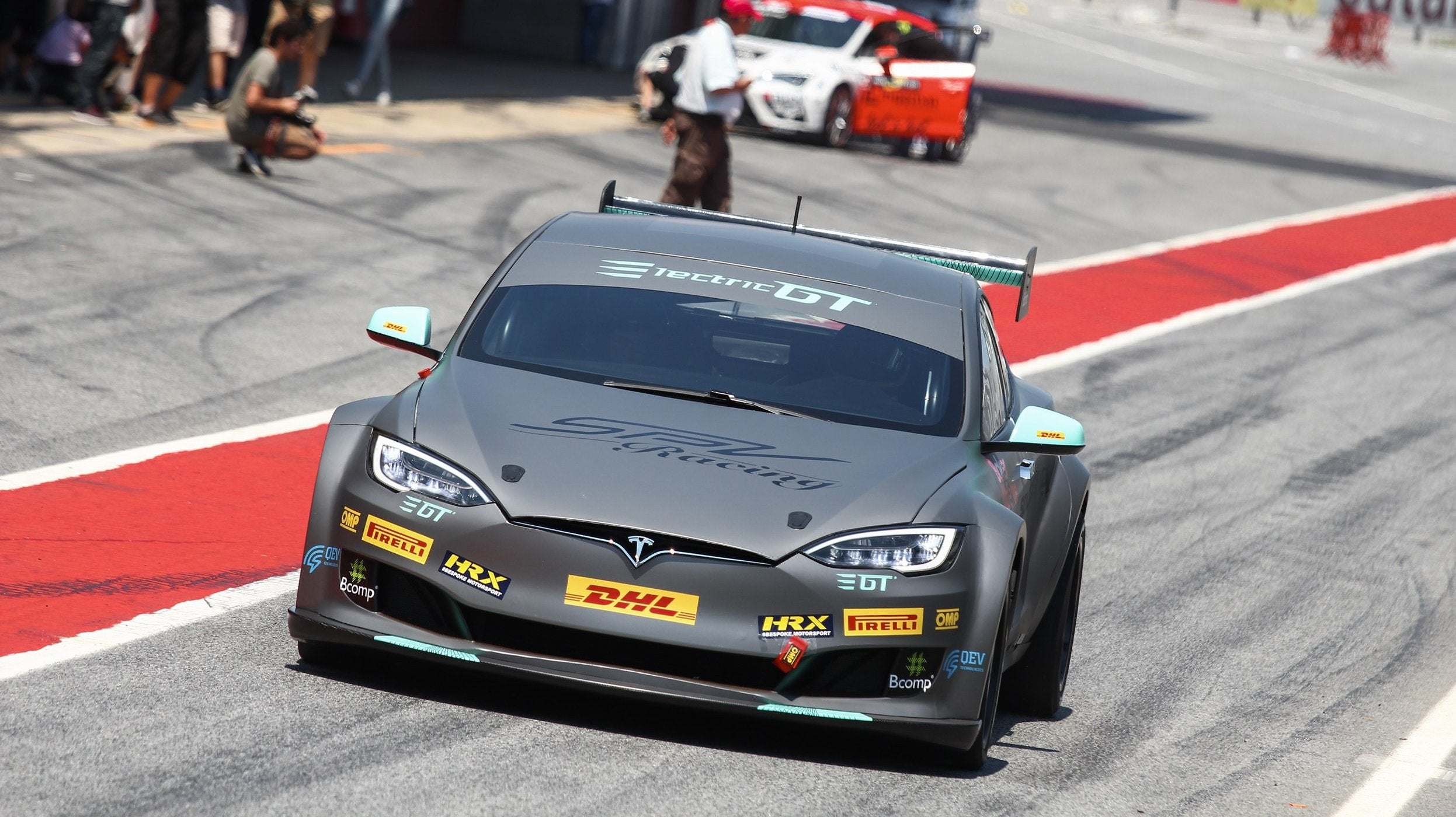 Here's What Happened With The Tesla Model S Race Car That Got Too Hot After Five Miles On An F1 Track