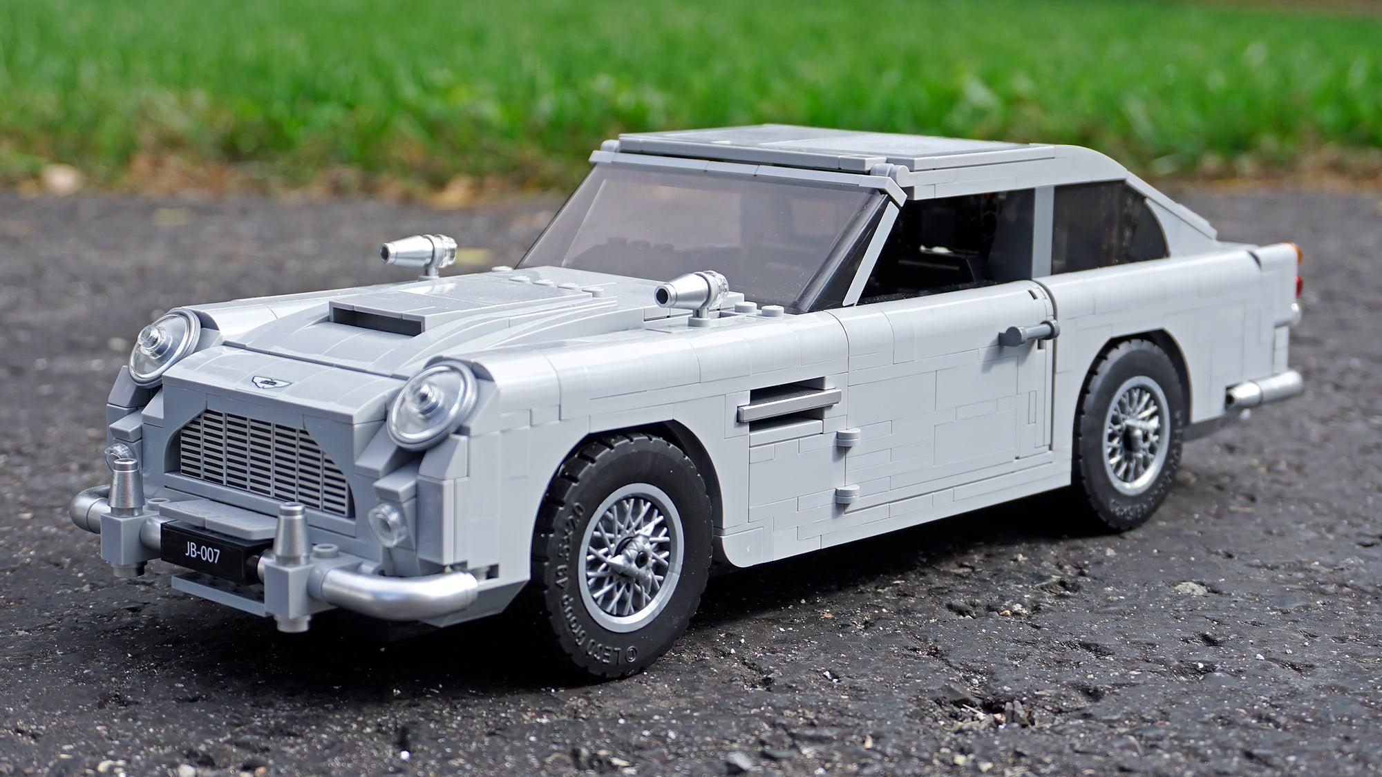 The Tiny Technical Details Make LEGO's James Bond Aston Martin A Joy To Build