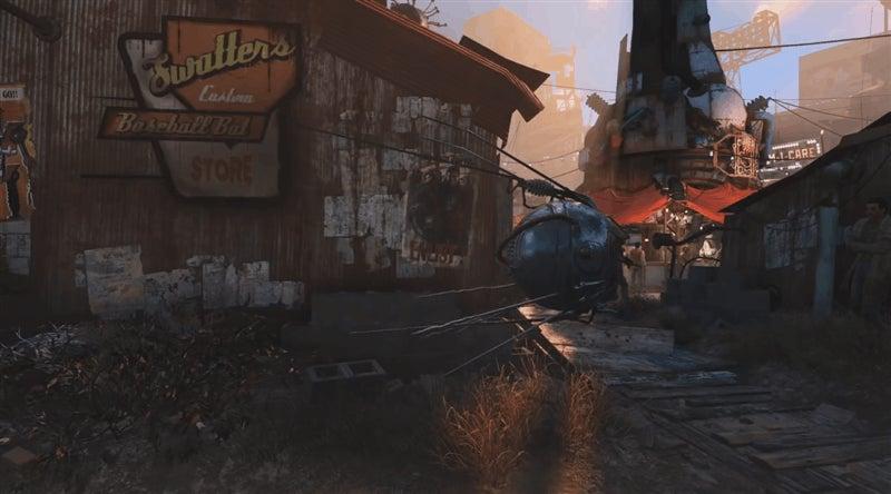 Fallout 4's Diamond City Has A Hidden Glitchy Area