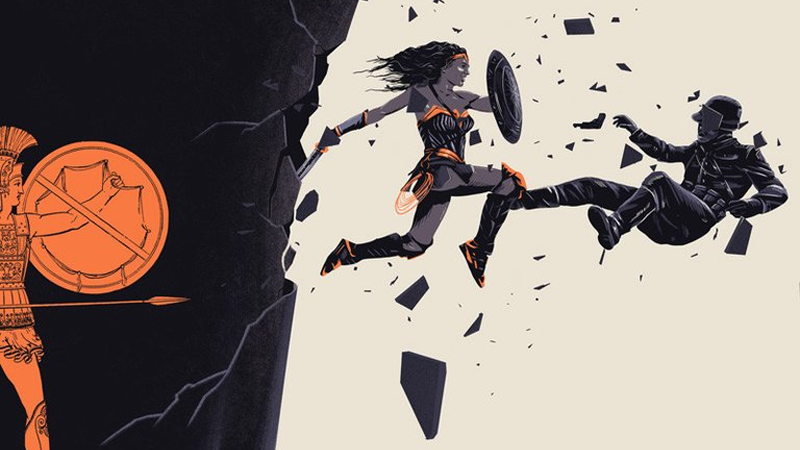 You Can Now Buy That Kickarse Wonder WomanPoster You Fell In Love With Last Weekend
