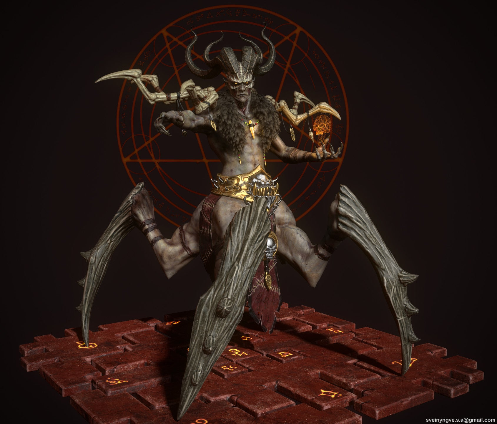 Diablo II's Final Boss, Looking Unusually Badass