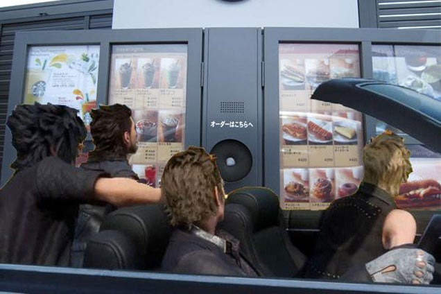 Final Fantasy XV's Road Trip, As Imagined By The Internet