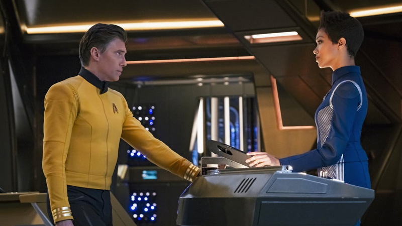 Star Trek: Discovery's Second Season Is Being Helped By A New Captain Who's Not A Massive Arsehole