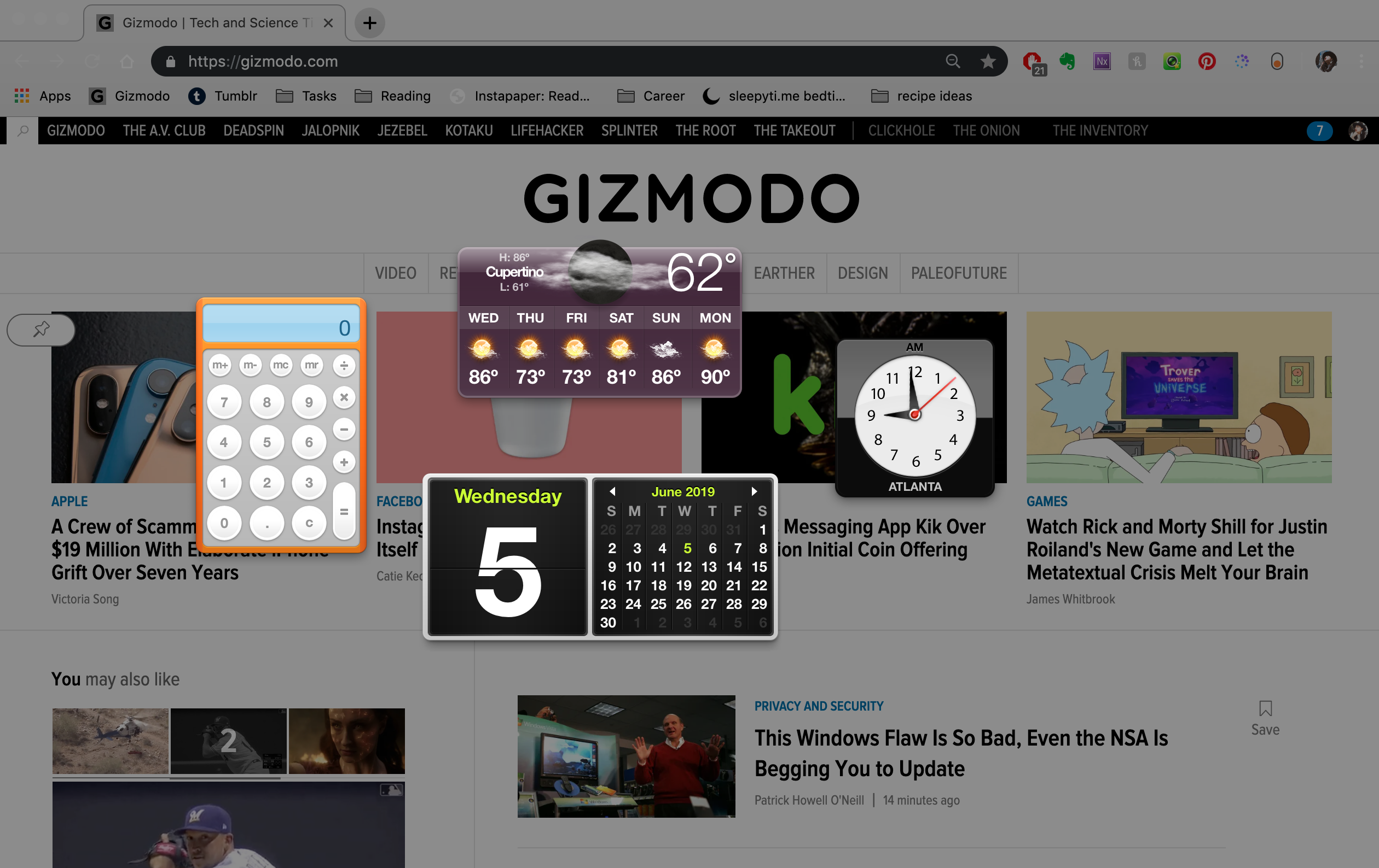 It Looks Like Apple Is Finally Killing The Dashboard In MacOS Catalina