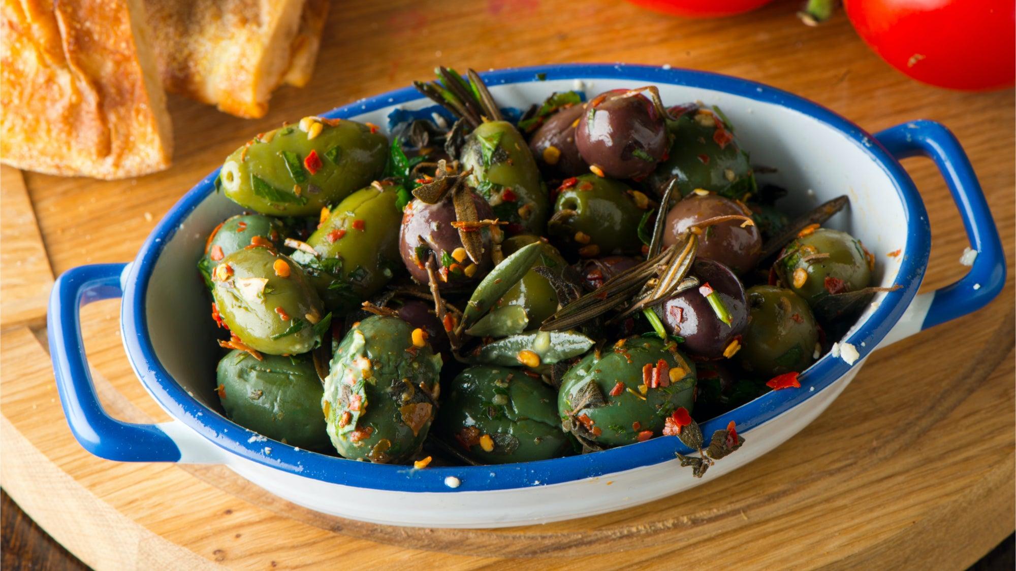 Your Guests Deserve Warmed Olives