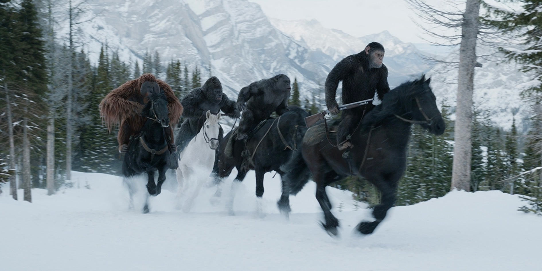 New War for the Planet of the Apes ads & featurettes released