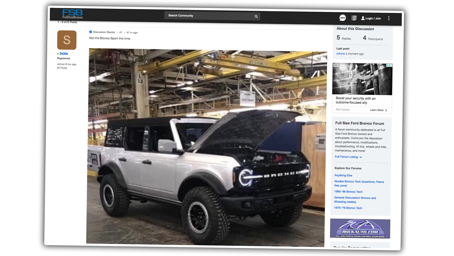 2021 Ford Bronco: This Is Probably It