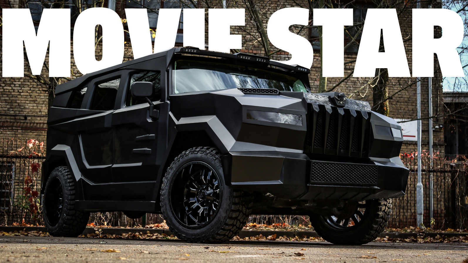 Our Pals At DARTZ Have Built An All-New Opulent SUV For A Movie But They Won't Say Which One