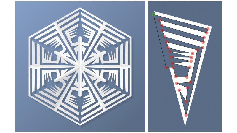 Prototype Your Paper Snowflakes With This Simple Online Tool
