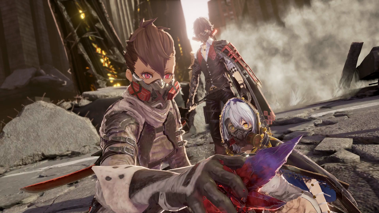 Code Vein's Network Test Was Packed With Trashy Anime Action