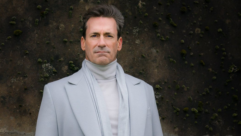 Here's Your First Angelic Look At Jon Hamm In Good Omens