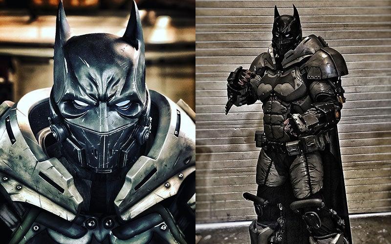 Giant Batman Cosplay Is Hoo Boy