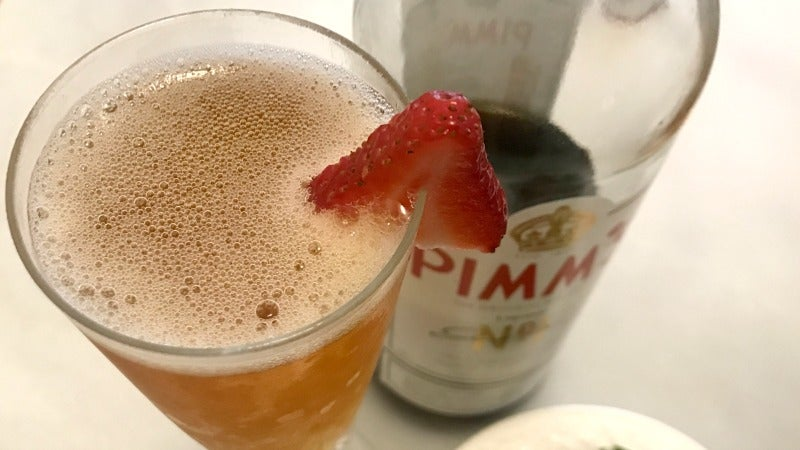 3-Ingredient Happy Hour: The Pimm's Royale